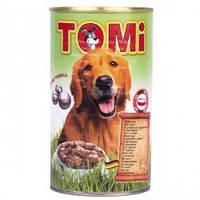 Консервы для собак TOMi ЯГНЕНОК (lamb), банка , 1,2кг.