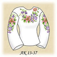 Заготовка женской сорочки для вышивания АК 13-37 Нежный Аромат
