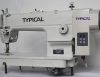 TYPICAL GC6150BD Высокоскоростная 1-игольная универсальная машина челночного стежка с прямым сервоприводом
