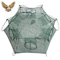 Раколовка зонтик шестигранный 1м