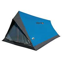 Палатка однослойная High Peak Minilite 2 (Blue Grey), фото 1
