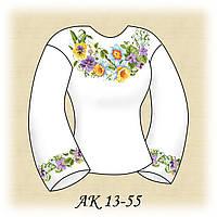 Заготовка женской сорочки для вышивания АК 13-55 Весенняя