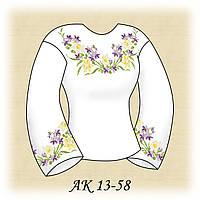 Заготовка женской сорочки для вышивания АК 13-58 Лесная Песня