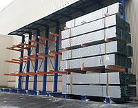 Консольные стеллажи для больших нагрузок SHCRT