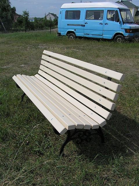 Лавка садово-паркова №4