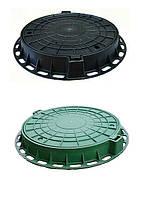 Люки канализационные полимерные, фото 1