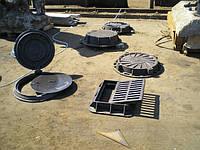 Люки чугунные канализационные легкие и тяжелые, фото 1
