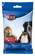 Универсальные салфетки для собак Trixie в мягкой упаковке 10 шт.