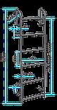 Стальная канализационная лестница, фото 6