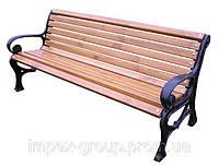 Садово-парковая скамейка №5, фото 1