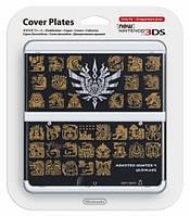 Декоративные крышки New 3DS Cover - Monster Hunter 4 (Black)