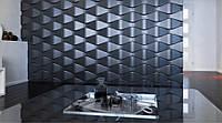 3d панели из гипса Мимоль 500х500х30мм