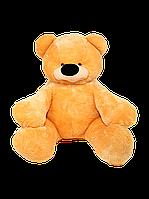 """Мягкая игрушка Медведь сидячий """"Бублик"""" медового цвета 43 см"""
