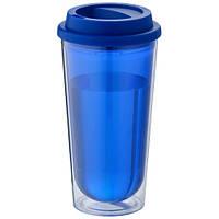 Термокружка Kota пластиковая, синяя, 470 мл