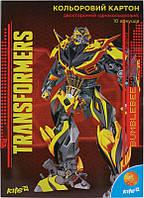 Картон цветной двусторонний Transformers TF15-255К