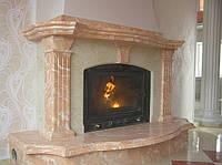 Мраморный портал камина