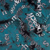 Вельвет «буквы»