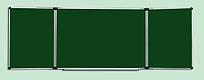 Доска меловая керамическая S-line 100х300