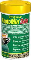 Tetra ReptoMin Junior 100ml  - корм для молодых водных черепах