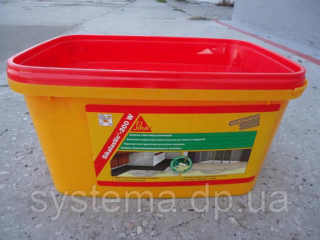 Sikalastic®-200 W - Жидкое эластичное гидроизоляционное покрытие для влажных помещений