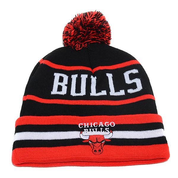 Шапка зимняя Chicago Bulls / SPK-29 (Реплика)