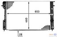 """Радиатор охлаждения двигателя """"BEHR-HELLA SERVIS"""" OPEL OMEGA B(1994-2003)"""