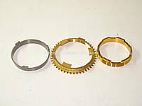 Комплект колец синхронизатора КПП (1-2 передачи) на Рено Кенго 1.5dCi 01-> Renault (Оригинал) - 326190209