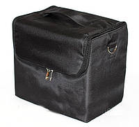 Чемодан-сумка тканевый для инструмента.Цвет-черный.29х27 х21