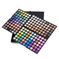 Професcиональная палитра теней 180 цветов 3 слоя