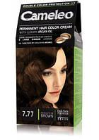 Краска для волос CAMELEO с маслом Арганы № 7.77 Соблазнительный каштан