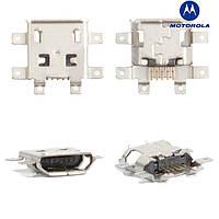 Коннектор зарядки для Motorola V8, оригинал