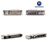 Коннектор зарядки для Motorola E398, T280, T720, E1, E1000, V300, V400, V500 оригинал