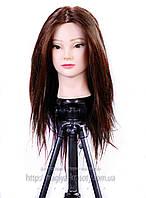 НОВИНКА! Учебный манекен с волосами и MakeUp, 65см. 80%  natural hair, фото 1