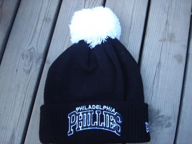 Шапка зимняя Philadelphia Phillies  / SPK-76 (Реплика)