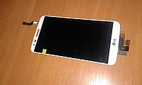 Модуль дисплейный LG G2 D802 белый Lcd module touch