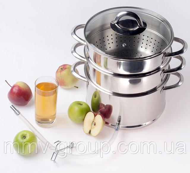 Соковарка из пищевого алюминия самый лучший вариант для кухни
