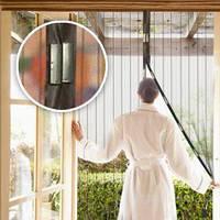 Москитная сетка на дверь - защита от насекомых