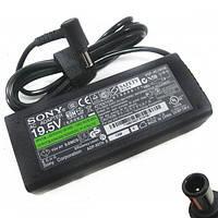 Зарядка для ноутбука Sony, сетевой адаптер 19,5 В, 39 Вт, 2 А, разъем 6,0х4,4 мм pin inside, B класс