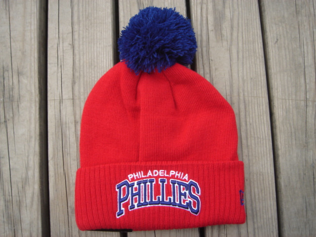 Шапка зимняя Philadelphia Phillies  / SPK-78 (Реплика)