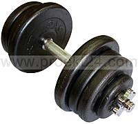 Гантель наборная стальная 1шт 25,5 кг