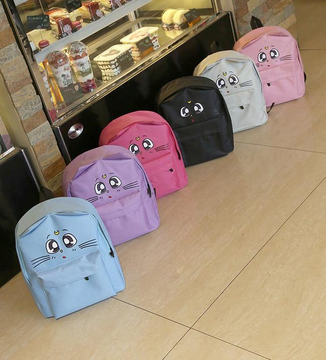 Стильный рюкзак Котик с ушками