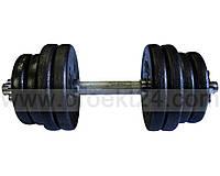 Гантель наборная стальная 1шт 21,5 кг