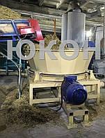 Подрібнювач соломи. Стаціонарна січкарня, фото 1