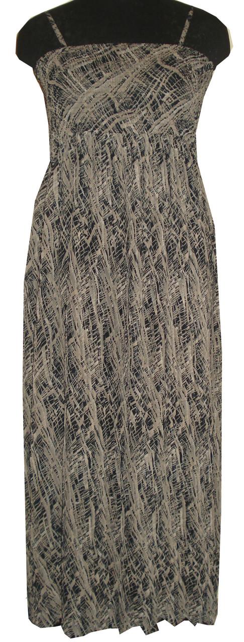 Женский длинный сарафан 4298