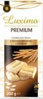 Белый шоколад LUXIMA Premium  «Cereals» (злаки), 200 г