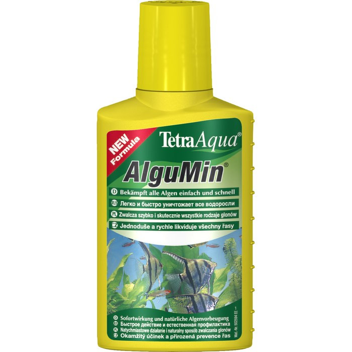 Tetra AlguMin 100ml - средство против водорослей в аквариуме (на 200л) - Интернет-магазин «Моё дело» в Харькове