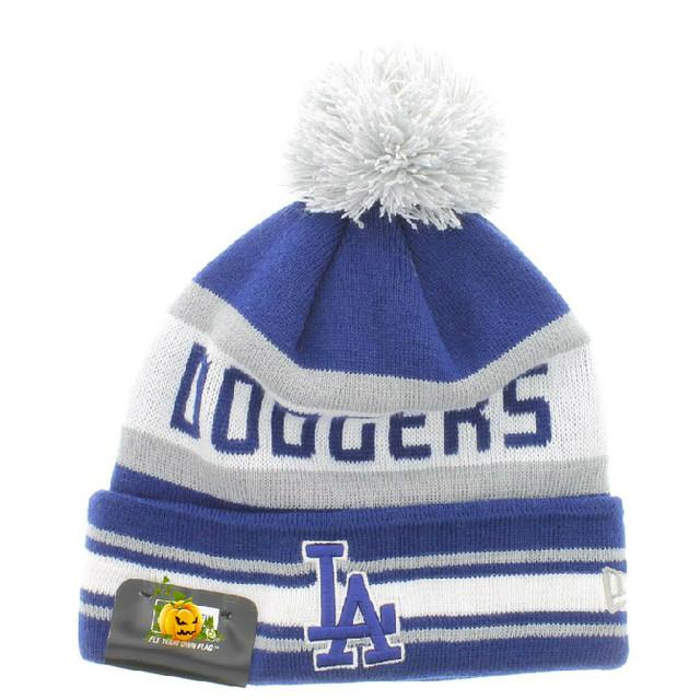 Шапка зимняя Los Angeles Dodgers  / SPK-89 (Реплика)