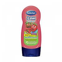 Bübchen Шампунь для мытья волос и тела «Мишкина малина», 230 мл