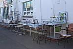 Складные пикниковые столы и раскладные стулья и кресла