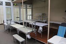 Складные пикниковые столы, комплекты пикниковой мебели
